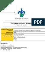 Documentación Del Sistema Diseño 1.1
