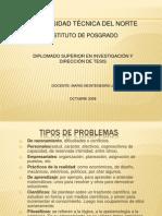 CARACTERISTICAS DE LOS PROBLEMAS DE INVESTIGACI+ôN