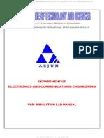 E-cad Vlsi Lab Manual