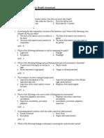 Examination Assessment