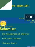 Buyers Behavior