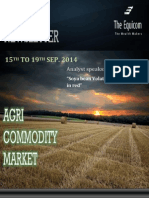 Weekly Agri News Letter 15 to 19 Sep 2014