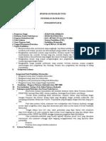 Spesifikasi Program Studi Matematika Akreditasi
