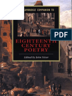 John Sitter the Cambridge Companion to Modernism