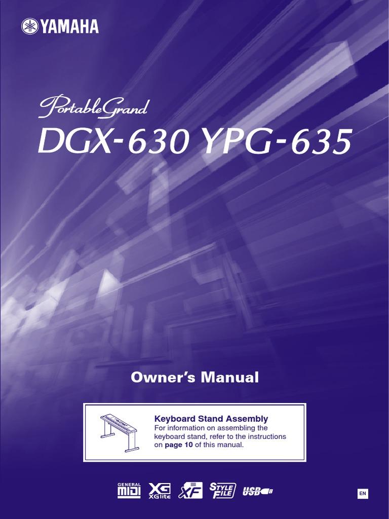 1a7dac55519a Yamaha YPG635 Manual