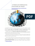 Conoce El Sistema de Notificaciones Internacionales de Interpol