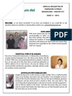 official newsletter of verbum dei quezon city no 11