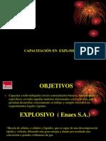 Capacitación Explosivos