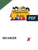 reglas para laboratorio de computo - preescolar
