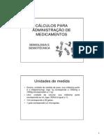 Calculos de Medicamentos
