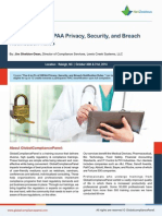 The A to Z's of HIPAA Privacy, Security, and Breach Notification Rules