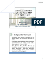 Central Bank Strengthening Project- Bangladesh Bank