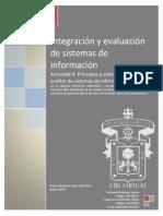 U1_Actividad 4_Principios y Valores Éticos de Un Auditor de Sistemas de Información