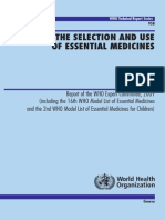 WHO Technical Report Series 2009