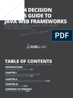 The 2014 Decision Makers Guide to Java Web Frameworks