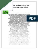 Poema Aniversario de Medardo Ángel Silva