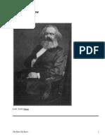 The Marx He Knew by Spargo, John, 1876-1966