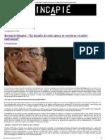 "Bernard Stiegler- ""El de...Ual"" - Revista Hincapie"