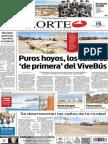 Periódico Norte de Ciudad Juárez, edición impresa del día 15 de septiembre de 2014