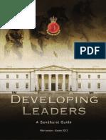 RMAS Developing Leaders