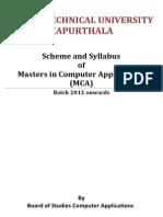 Update MCA Batch 2012 Syllabus--21!07!2014
