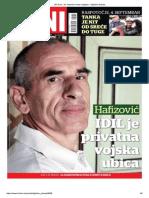 IDIL je privatna vojska ubica - Intervju DANA