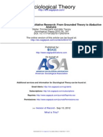 Theory Construction in Qualitative Research From Grounded Theory to Abductive