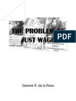 The Problem of Just Wage