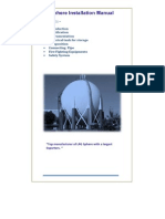 LPG Sphere Installation Manual