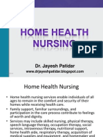 Home Health Nursing