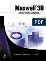 FEM Maxwell 3D