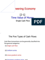 [2-1] Time Value of Money - Single Cash Flow