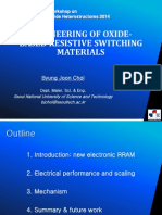 Engineering of Oxide-based Materials