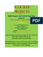 Bulk IEEE 2012-2013 projects in chennai