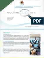 AIMIT Placement Brochure
