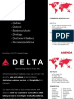 Delta Air strategies