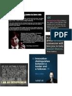 Entreprenenuship Quotes