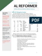 NorCal Reformer 45 (September 12, 2014)