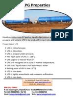 LPG Properties