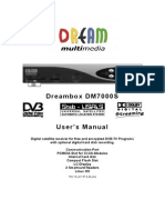 Dreambox DM7000S Manual Eng