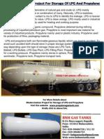 Modernization Project for Storage of LPG and Propylene