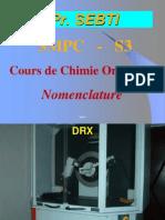 Sebti Nomenclature S3 SMPC 2010
