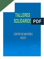 Microsoft PowerPoint - Presentación Talleres 2014
