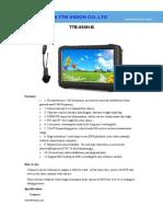 Analog Camera Wireless Camera TTB 860H B Specification