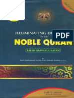 Illuminating Discours es on the Noble Quran- Volume 5
