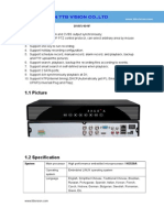 DVR5404F Specification-TTB Vision Co.,Ltd-www.ttbvision.com
