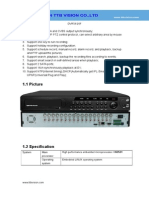 DVR5616F Specification-TTB Vision Co.,Ltd-www.ttbvision.com