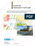 Margaret Thatcher Plaza Planning Documents