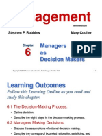 6.Managers as Decision Makers