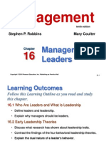 16.Managers as Leaders
